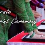 Corporate Handprint Ceremony
